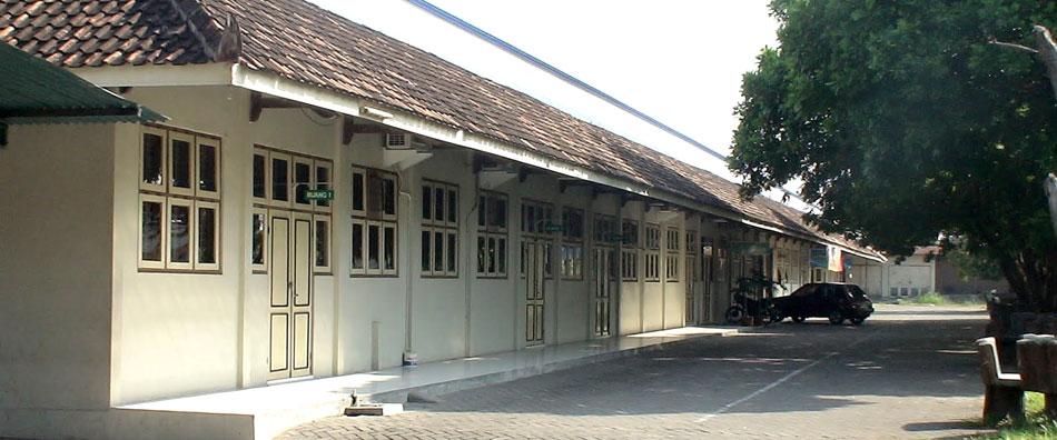 Gedung LAB TE lama di Kampus I