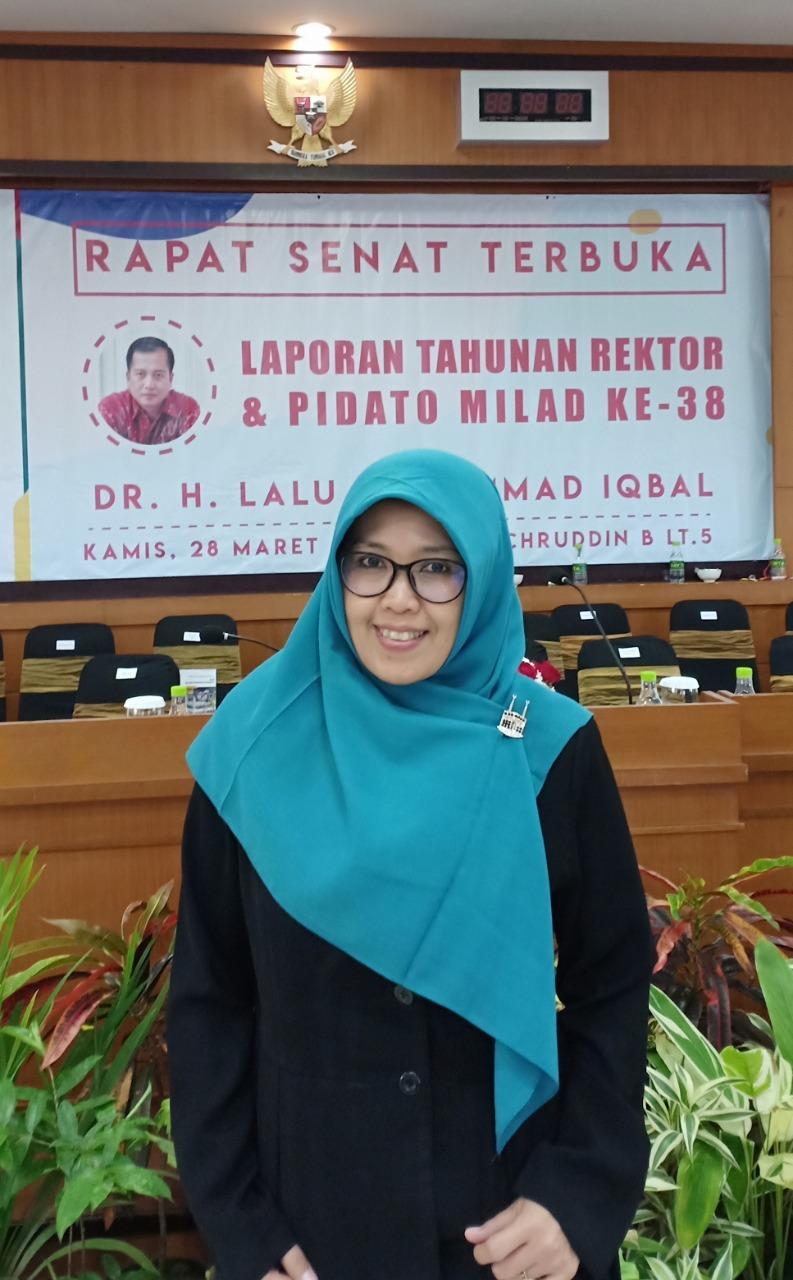 Anna Nur Nazilah Chamim, S.T., M.Eng. (Dosen Teknik Elektro FT UMY, Dosen PNS LLDIKTI 5, Kepala Bidang Penjaminan Mutu Internal BPM UMY, Alumni TE UMY Angkatan 1995)